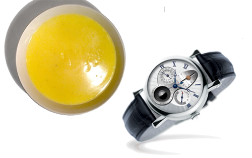 natillas reloj